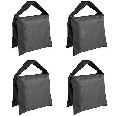 Neewer 4PCS Photographic Sand Bag for Photo/Light/Boom Tripod Stand