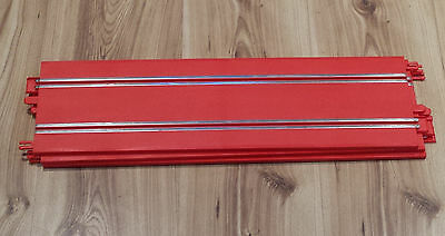 Scalextric Start 1:32 Track - Red Straights x 3