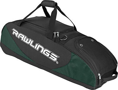 PPWB RAWLINGS PLAYER PREFERRED  Baseball or Softball Bag DARK GREEN