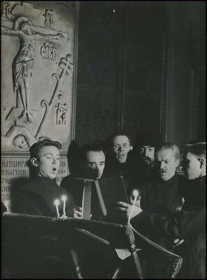 BRASSAÏ (Artist): Original Photograph of Religious Choir in Paris