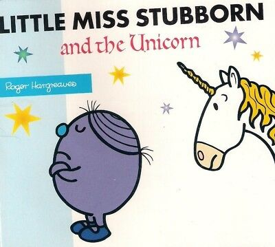 NEW LITTLE MISS STUBBORN and the UNICORN (BUY 5 GET 1 FREE STORY LIBRARY Mr Men