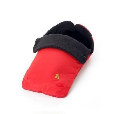 Out n About Nipper Footmuff Cosytoes (Carnival Red) Wide Universal Fitting
