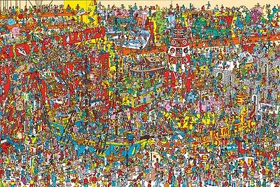 Where's Wally? Poster 61x91.5cm