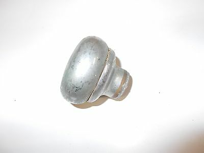 "Antique/Vintage Architectural Hardware Single 1-7/8"" Nickel Color Door Knob"