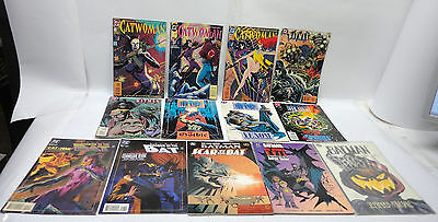 Lot of 13  D C Comics - Catwoman - Batman, Scar of the Bat, Batman Ghosts, #4,5