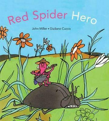 Red Spider Hero by John Miller (English) Hardcover Book Free Shipping!