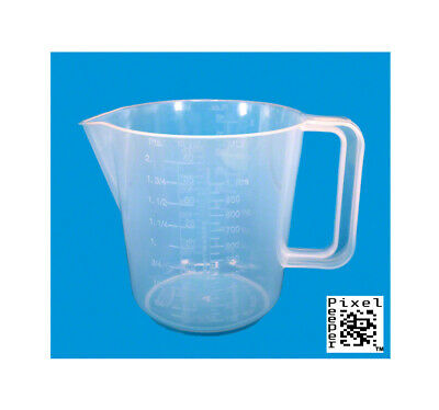 1000ml Measuring Jug for Darkroom Chemicals. 1 Litre Capacity. Easy to Clean