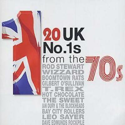 Various Artists : 20 UK No. 1s from the 70s CD (2003)