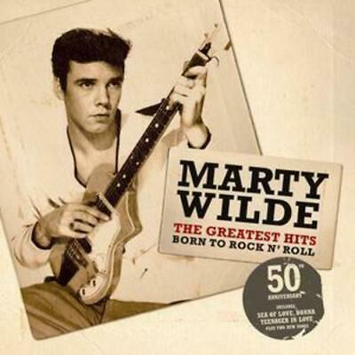 Marty Wilde : Born to Rock and Roll - The Greatest Hits CD (2007) Amazing Value