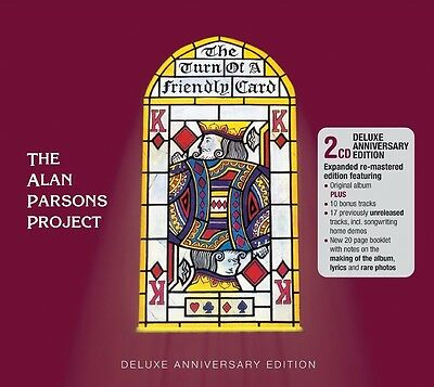 The Alan Parsons Project - The Turn Of A Friendly Card 2 Cd Neu