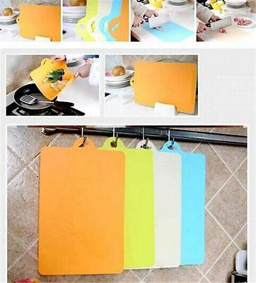 New Household Kitchen Chopping Board Food Worktop Chop Cutting Dicing Slicing LA