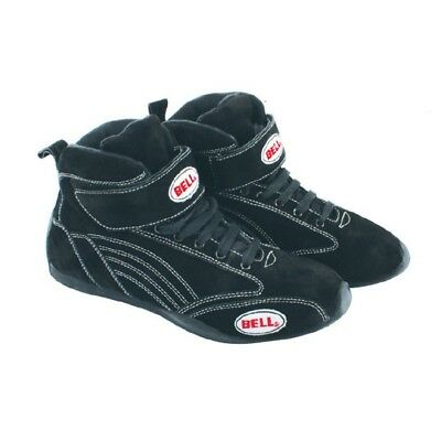 Bell Viper II Mid-Top SFI 3.3/5 Certified Racing/Driving Shoes, Black, Size 12