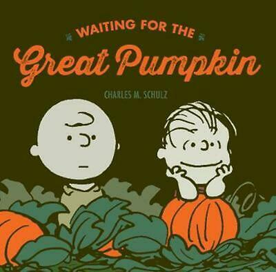 Waiting for the Great Pumpkin by Charles M. Schulz (English) Hardcover Book Free