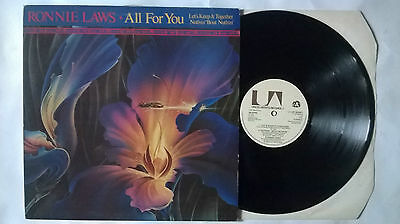 """Ronnie Laws All For You Uk 12"""" Ua  12Up36481 1978 Special Disco Mix Dance"""