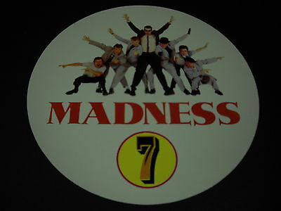 MADNESS 2-sided sensational PROMO DECORATOR FLAT from SEVEN mint condition