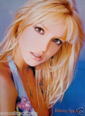 """BRITNEY SPEARS """"TILTED HEAD"""" ASIAN POSTER - Beautiful, Pop Music Princess!"""