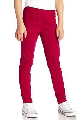 CFL Kinder Mädchen Jeans Hose Chinohose Chinos Stretch Rot 348884
