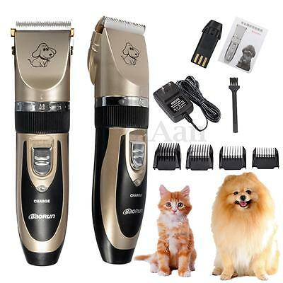 Professional  Mute Grooming Kit Animal Pet Cat Dog Hair Trimmer Clipper Shaver