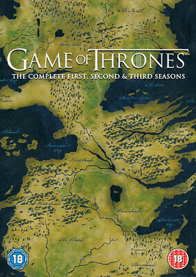 Game of Thrones: The Complete First, Second & Third Seasons DVD (2014) Sean