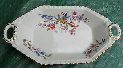 Stunning Vintage Hammersley Bone China Dish Indian Tree
