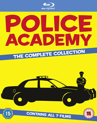 Police Academy: The Complete Collection Blu-Ray (2013) Steve Guttenberg