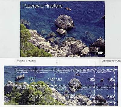 CROATIA 2005 Holiday Greetings  booklet of 10 stamps  MNH / **.  Michel  MH 16