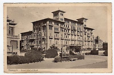 [Rm50] Cartolina Viareggio Grand Hotel Et Royal