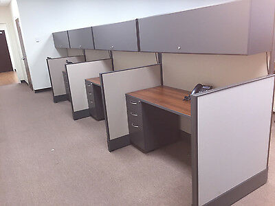 Used cubicles, AIS Call Center Cubicles 2x5