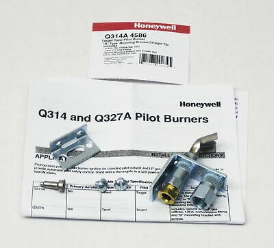 Q314A4586 Honeywell Pilot Burner for Natural or LP Gas