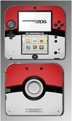Pokeball Special Edition X and Y Video Game Skin Cover Protector Nintendo 2DS