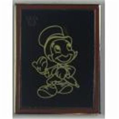 Jiminy Cricket Chaser Hidden Mickey Chalk Sketches Disney Pin 102306
