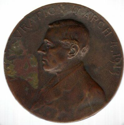 1913 Woodrow Wilson Official Inaugural Medal