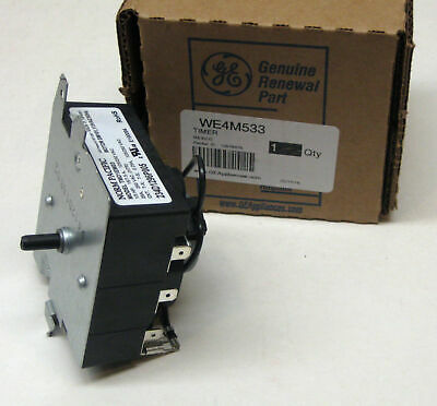 WE4M533 GE General Electric Dryer Timer Control OEM AP5780508 PS8690648
