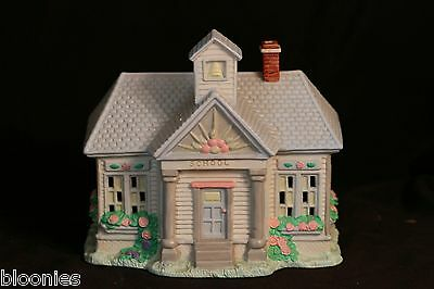 Cottontail Lane Lighted SCHOOL house Midwest of Cannon Falls