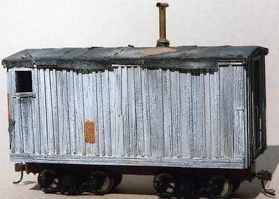 On3/On30 WISEMAN MODEL SERVICES ELY-THOMAS LOGGING CAMP CAR TYPE 2 CASTING SET