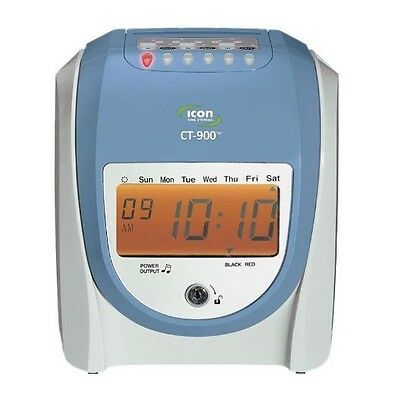 Icon time systems CT-900 Calculating Time Recorder with free lifetime support