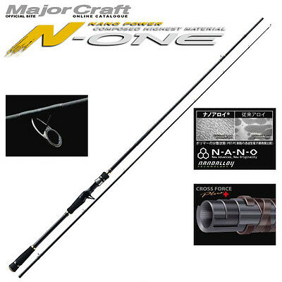 Major Craft N-ONE 2 piece rod#NSL-T832M/BF