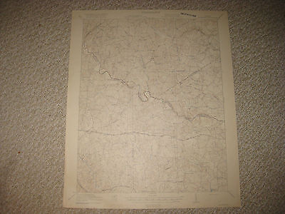 Antique 1921 Mckenney Virginia Topographic Map Sussex Greenville County Detailed
