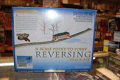N Bachmann item 44847 * Point to Point Reversing Track Set * NIB