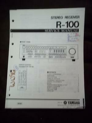 Yamaha Service Manual for the R-100 Receiver    mp