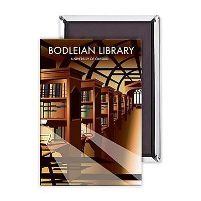 Bodleian Library fridge magnet   (se)