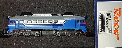 BR120 M62 Diesel locomotive of the RZD blue white Ep5 Roco 36238 TT 1:120 # HL2