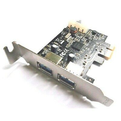 Dynamode USB-2PCI-3.0-LP 2 Port SuperSpeed USB3.0 PCIe Card