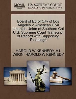 Board of Ed of City of Los Angeles v. American Civil Liberties Union of Southern