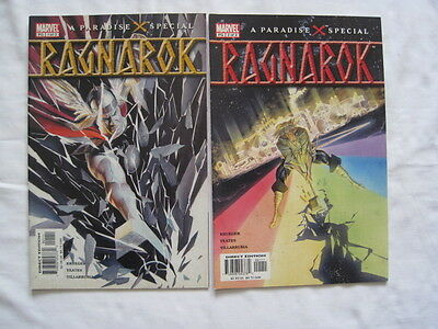 THOR : RAGNAROK : Complete 2 issue series by ALEX ROSS. FANTASTIC !.MARVEL.2003