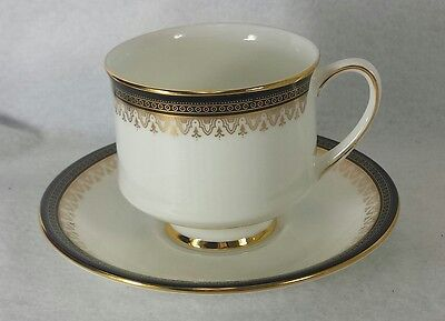 ROYAL ALBERT china CLARENCE pattern CUP/SAUCER factory outlet