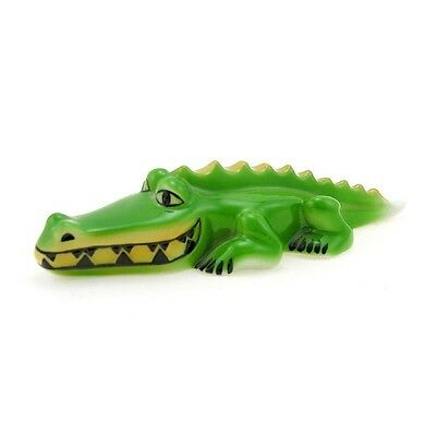 Hungarian Porcelain Hollohaza Crocodile Figurine