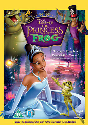 The Princess and the Frog DVD (2010) Ron Clements cert U FREE Shipping, Save £s