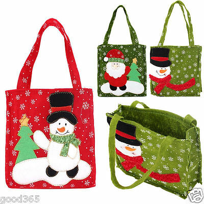 2017 New Xmas Santa Claus Gift Bags Merry Christmas Candy Bags Hot Low-Priced