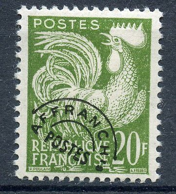 Stamp / Timbre France Preoblitere Neuf Sans Gomme 113 Type Coq